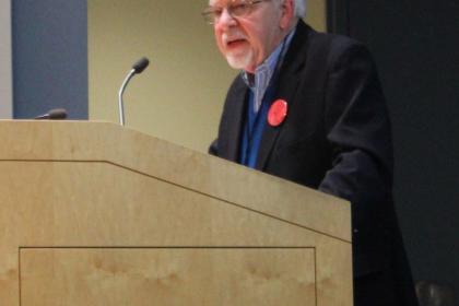 Retired Assembly Majority Leader Jim Wahner