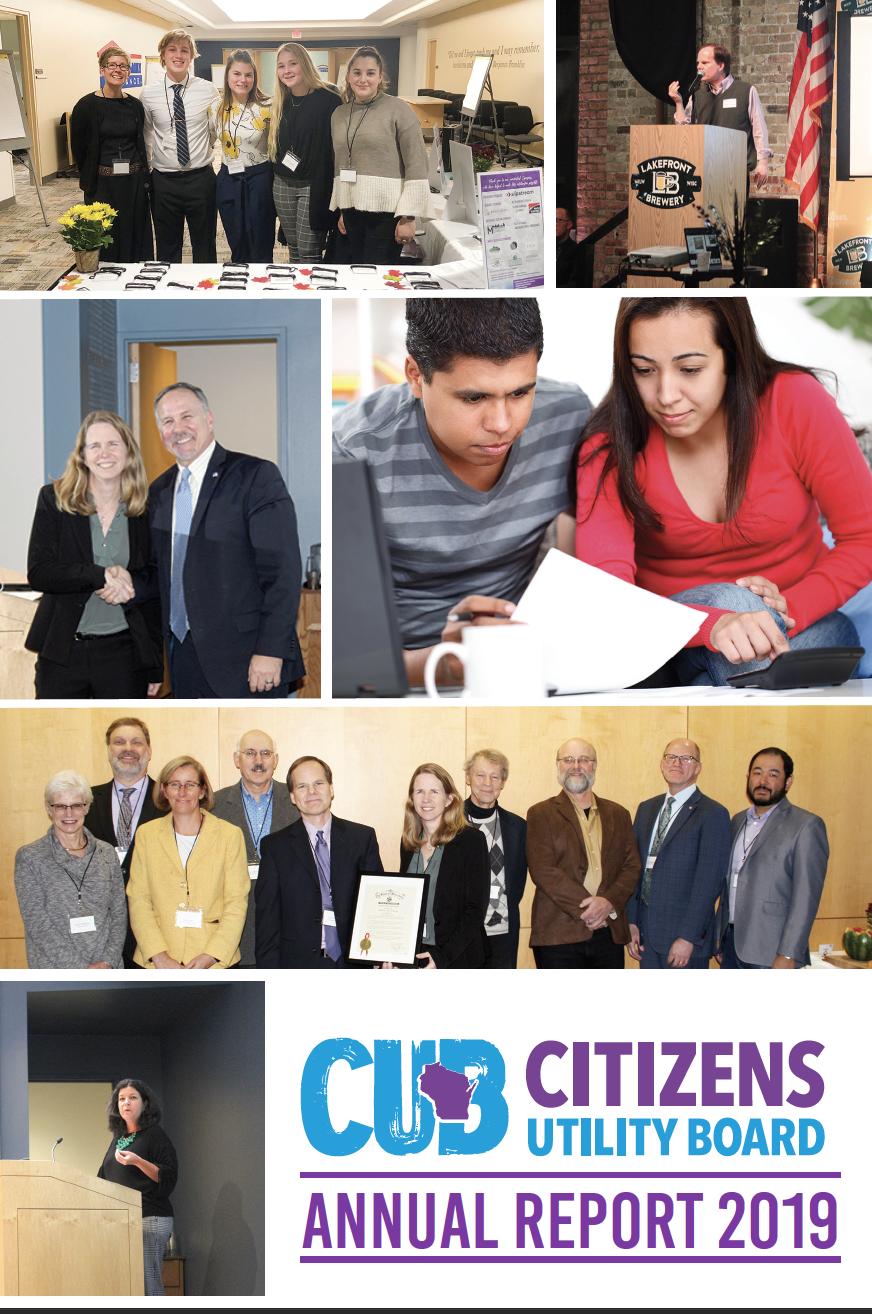 CUB Annual Report 2019