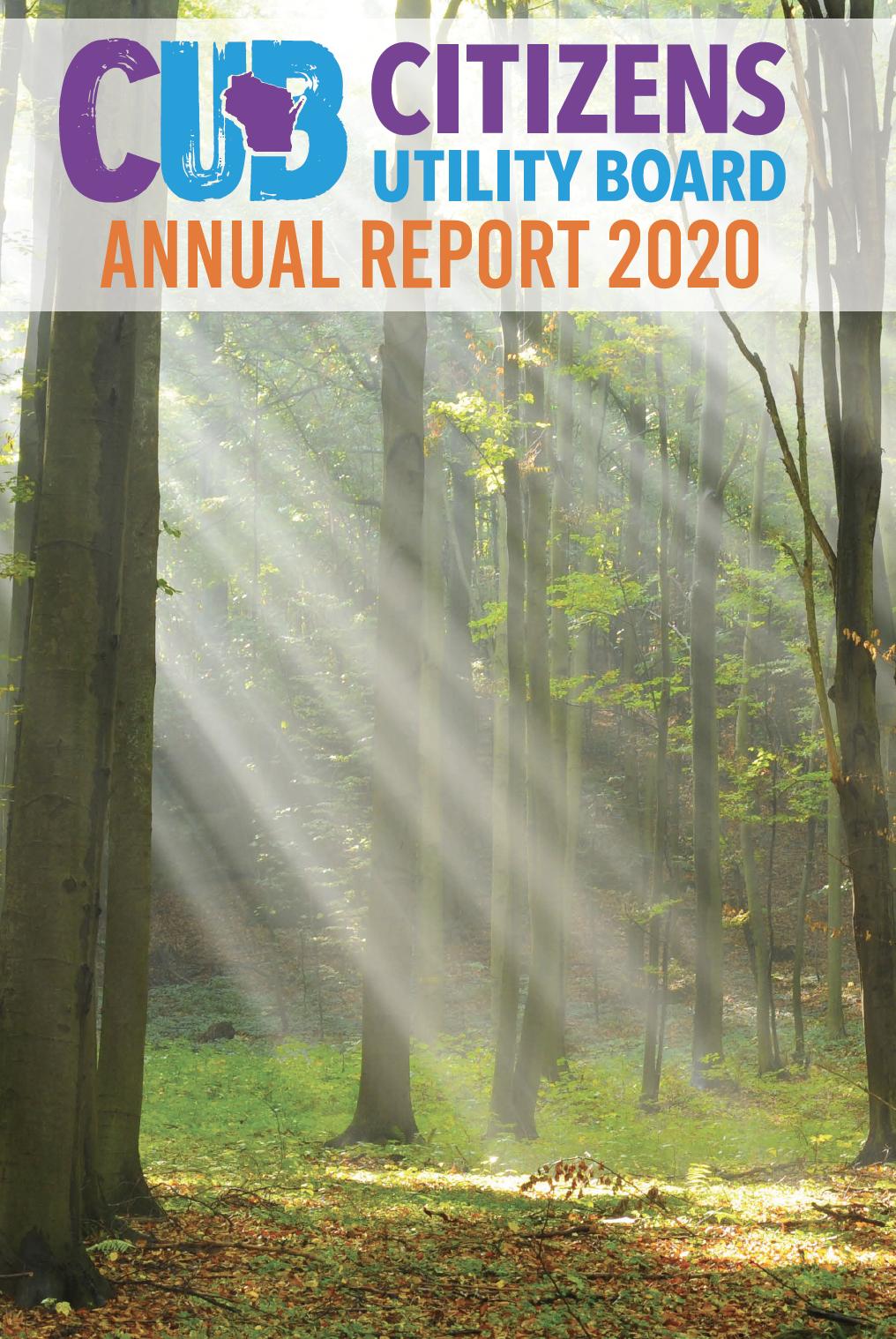CUB Annual Report 2020